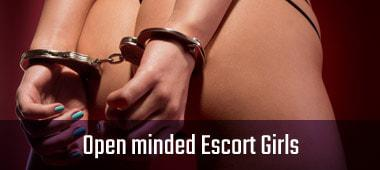 open minded escort girls